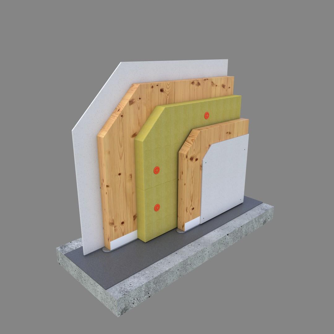 DEK Vnitřní nosná stěna SN.0010A (DEKPANEL D 3.2.2)