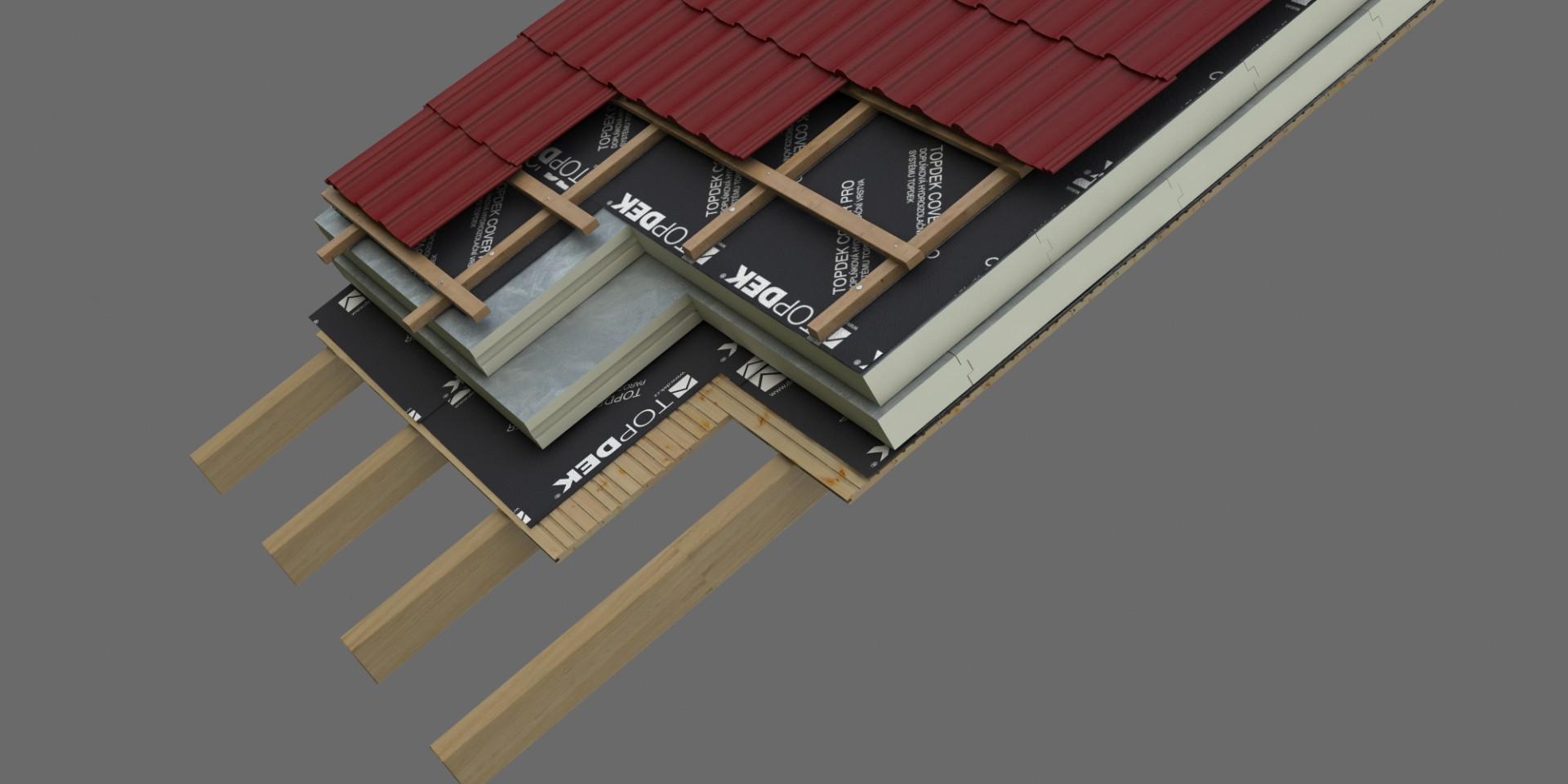 DEK Střecha ST.8002A (DEKROOF 11-B)