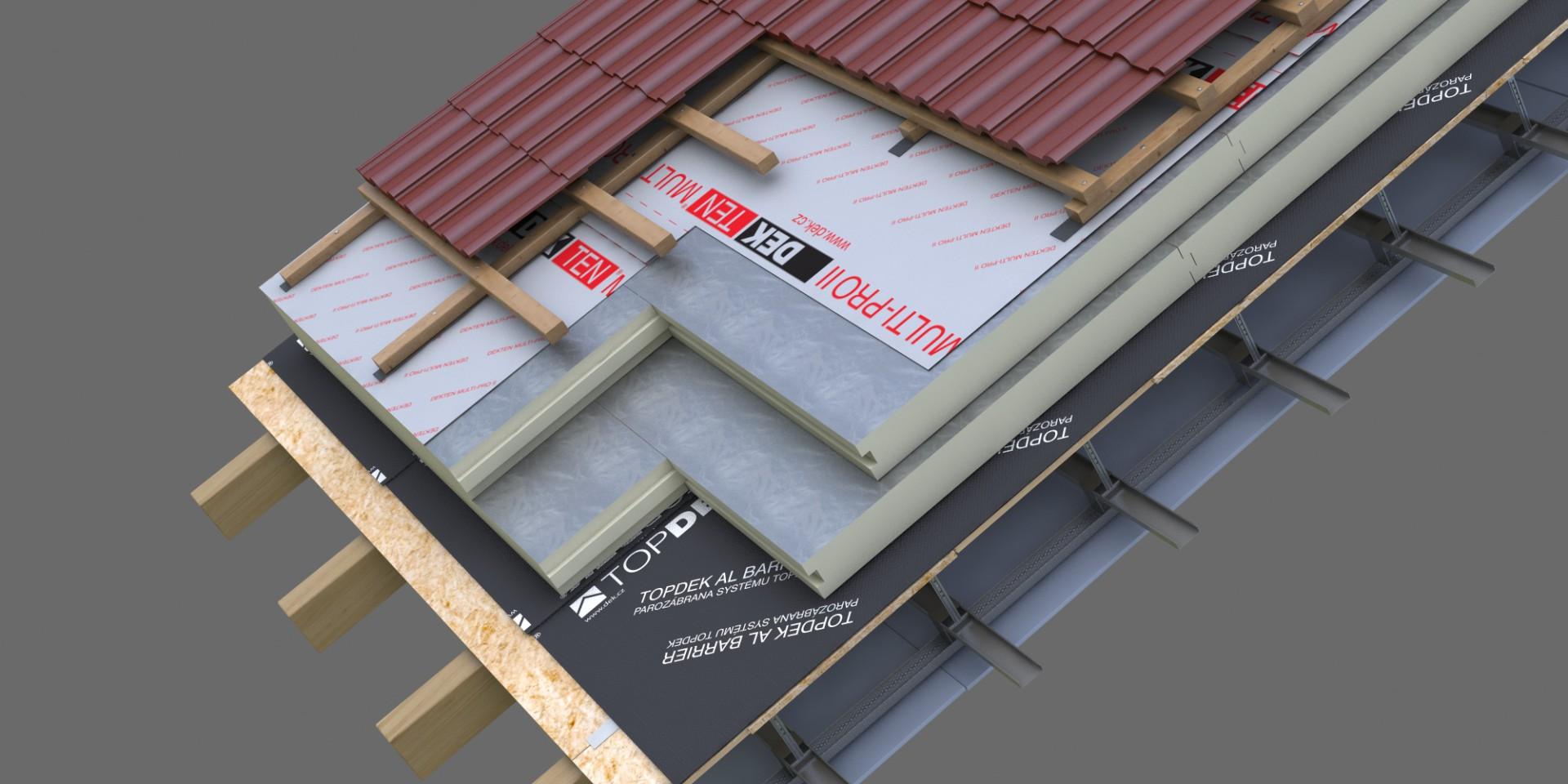 DEK Střecha ST.8001B (DEKROOF 11-C)