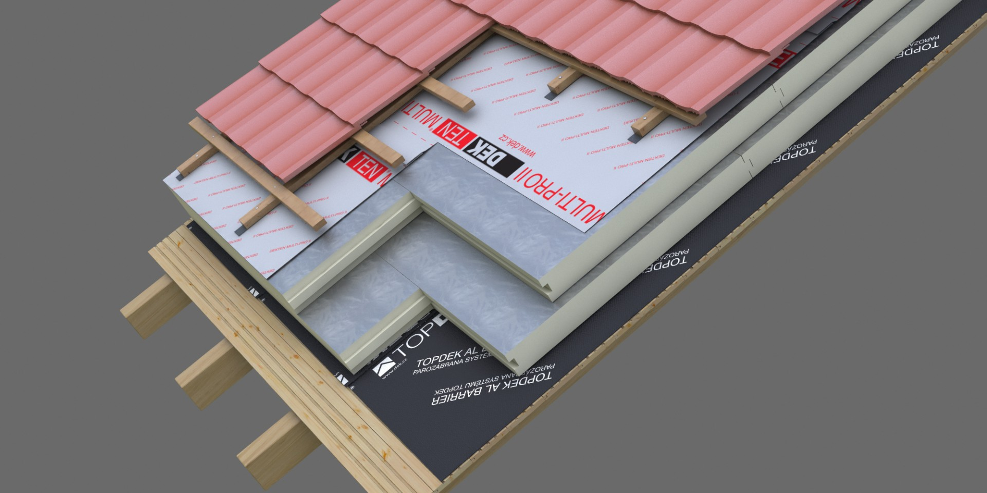 DEK Střecha ST.8002B (DEKROOF 11-D)