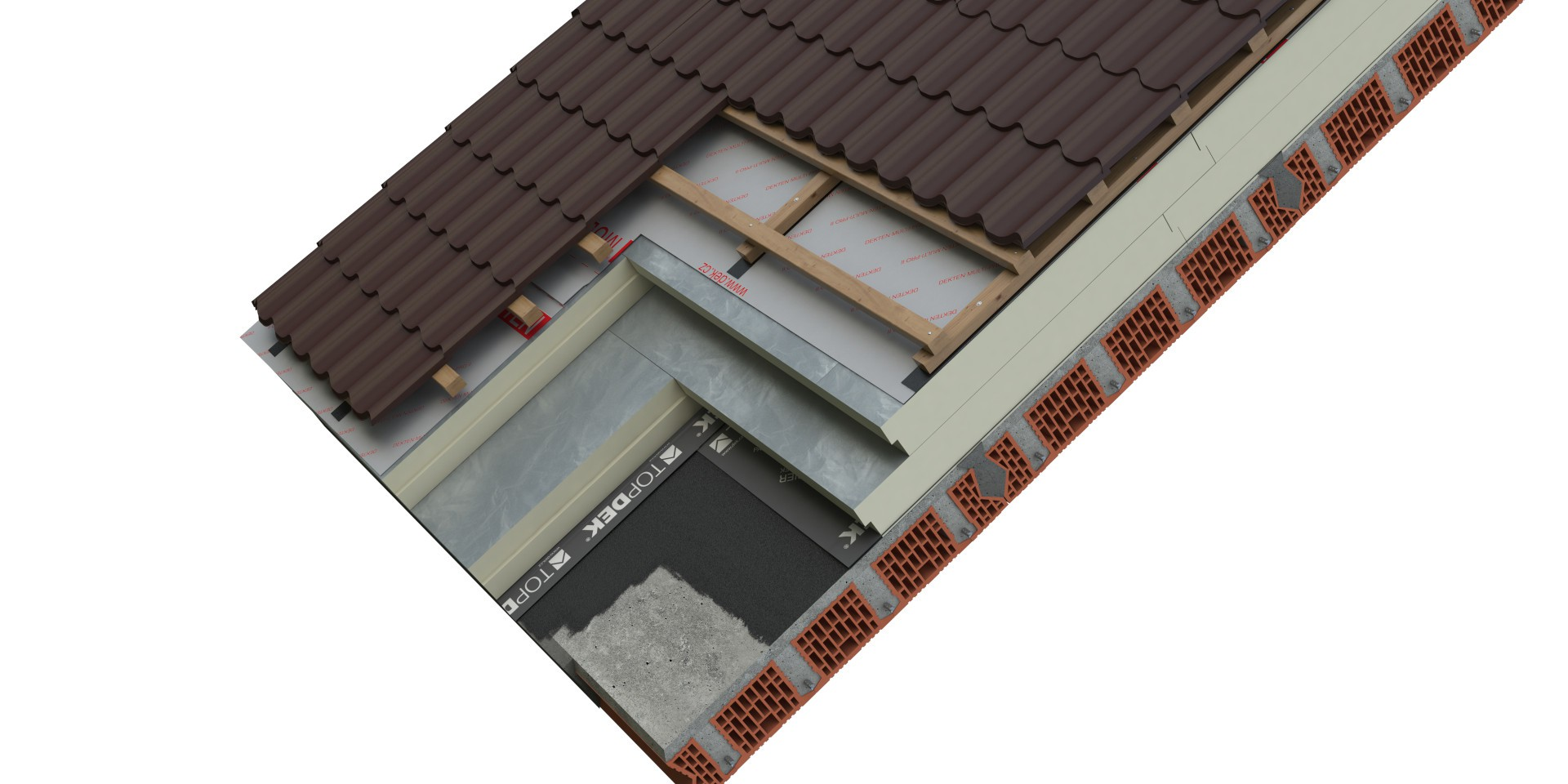 DEK Střecha ST.8004A (DEKROOF 18-A)