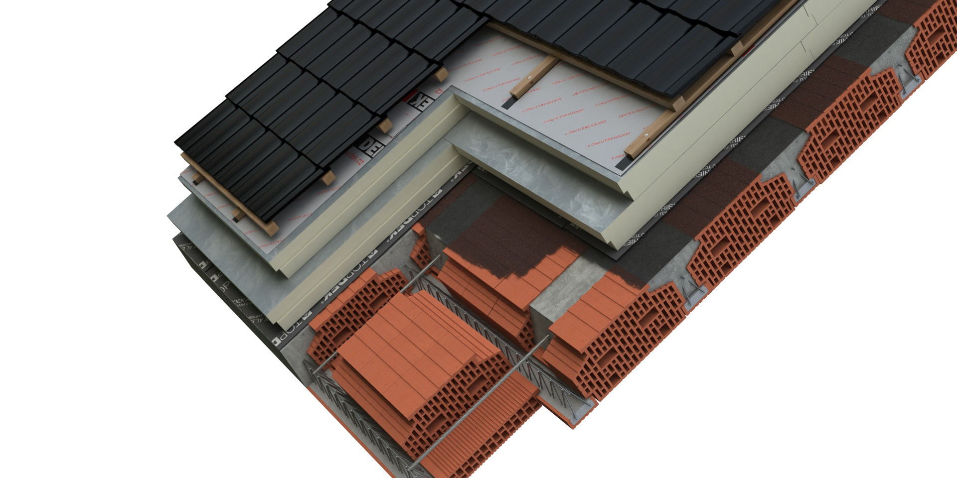 DEK Střecha ST.8004C (DEKROOF 19-A)