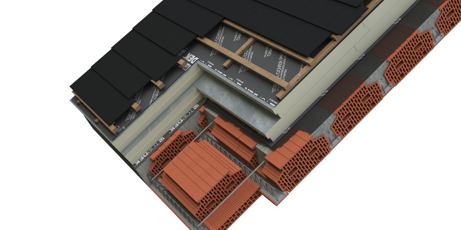 DEK Střecha ST.8004D (DEKROOF 19-B)