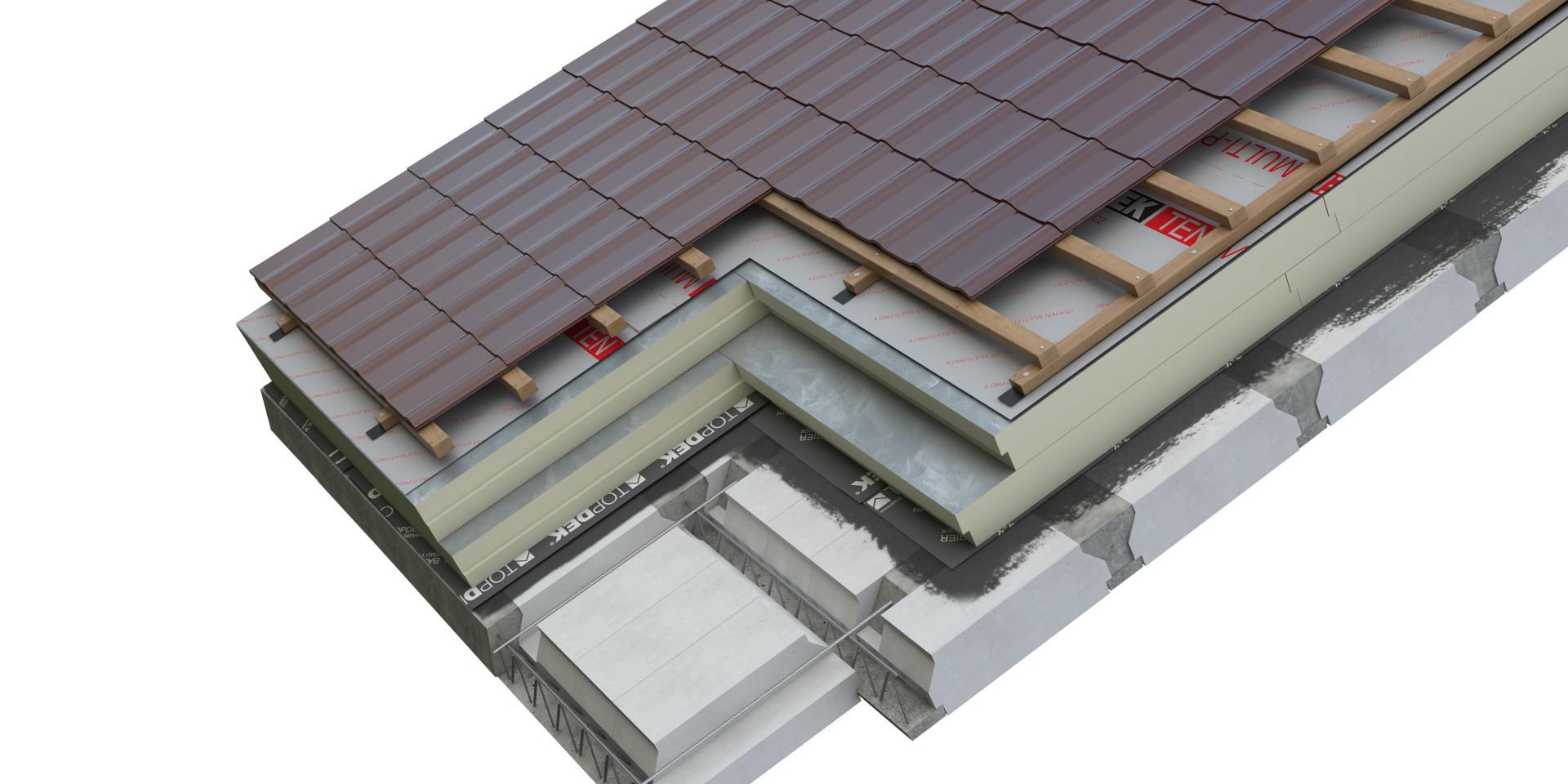 DEK Střecha ST.8004E (DEKROOF 20-A)